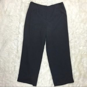 Talbots Pants Wool Blend Lined Polka Dot Petite 14